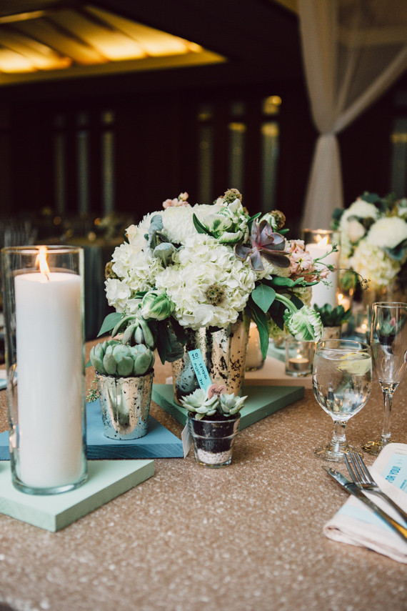 Modern Nebraska Wedding Flowers
