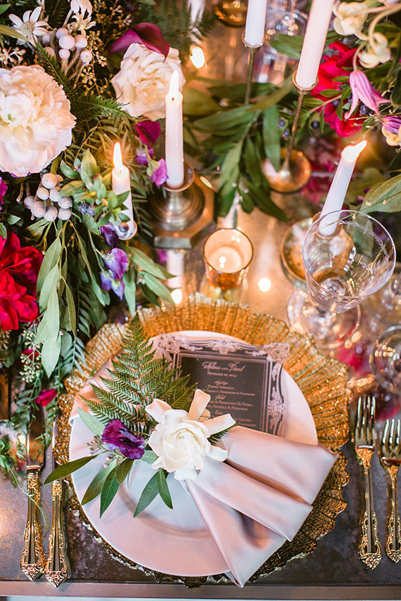 Romantic Luxe Wedding Inspiration