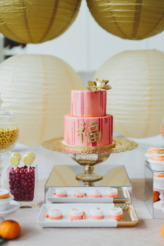 Chinese new year dessert table wedding party ideas - Chinese new year party ideas ...