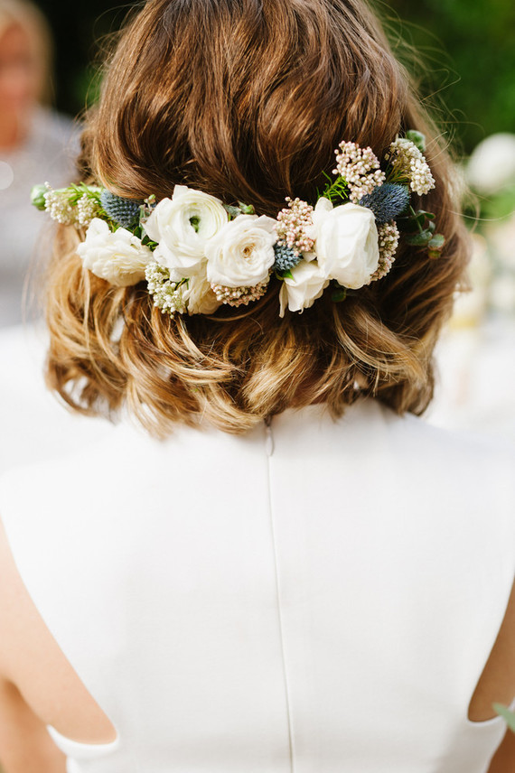 Floral headpiece
