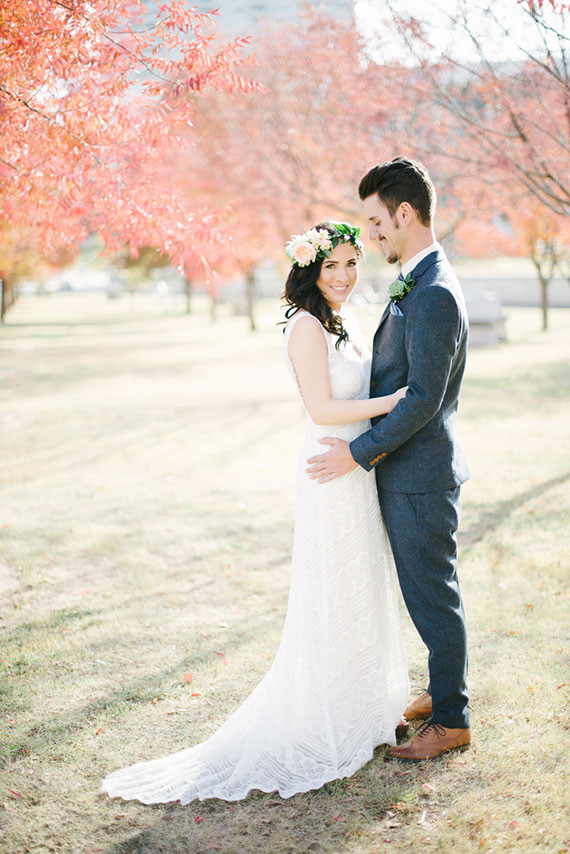Outdoor Oklahoma Wedding Portrait