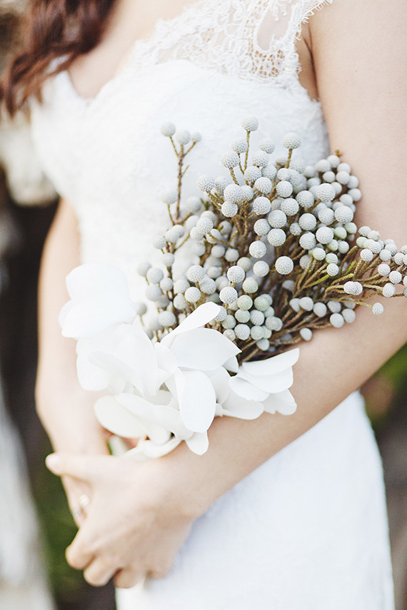 Simple bridal bouquet