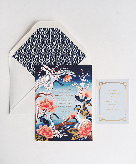 Kyoto Garden inspired baby shower for Anna Bond of Rifle Paper