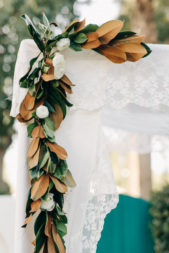 Magnolia Leaf Garland Wedding Amp Party Ideas 100 Layer Cake