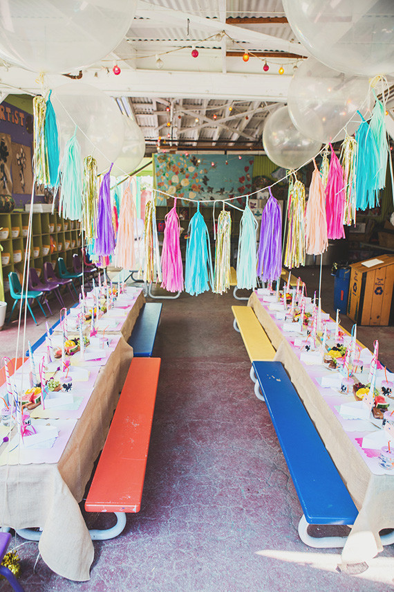 Unicorn 4th Birthday By Homethrownla Wedding Amp Party