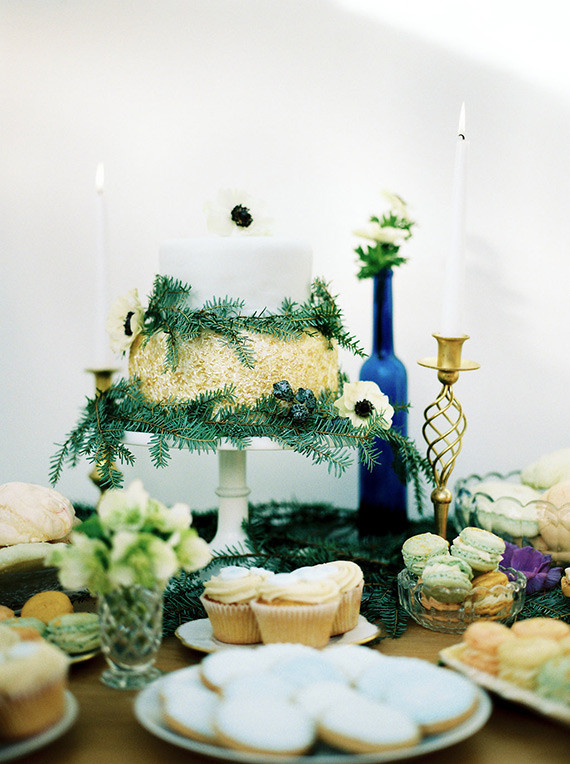 Royal Blue British Baby Shower