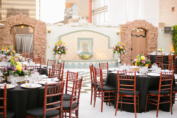 modern downtown los angeles wedding reception wedding party ideas 100 layer cake. Black Bedroom Furniture Sets. Home Design Ideas