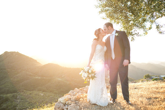 Malibu Rocky Oaks wedding portrait