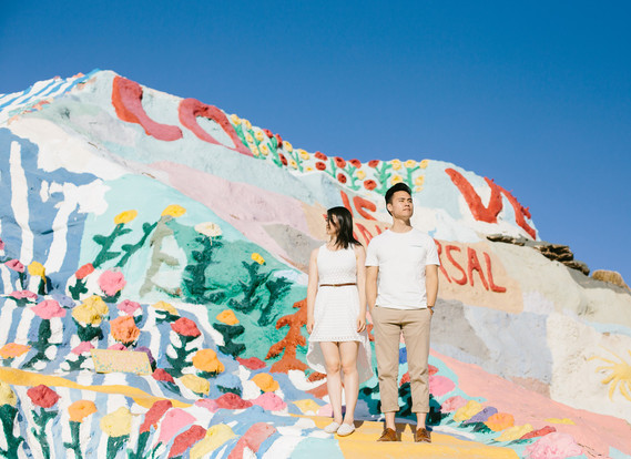 Salvation Mountain anniversary portrait