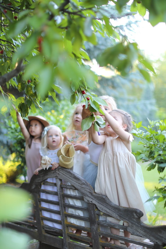 childrens garden party