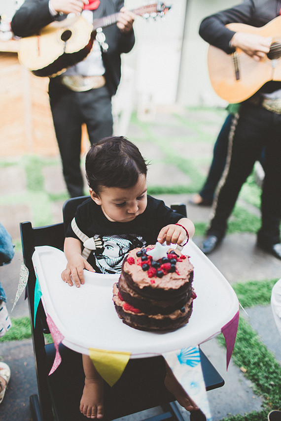 Backyard 1st Birthday for Juni