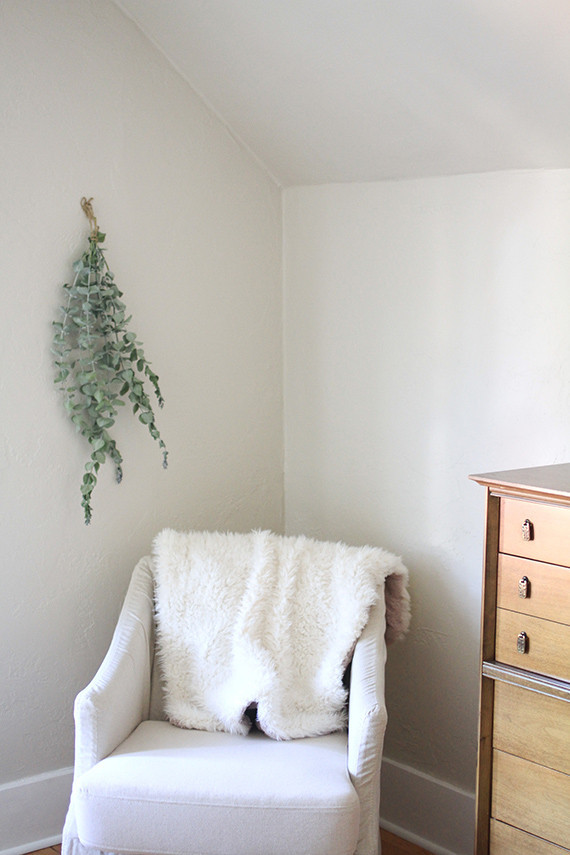 Simple white nursery