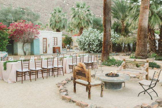 DIY Korakia Palm Springs wedding