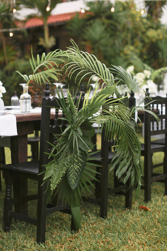 Palm Fronds Decor Wedding Amp Party Ideas 100 Layer Cake
