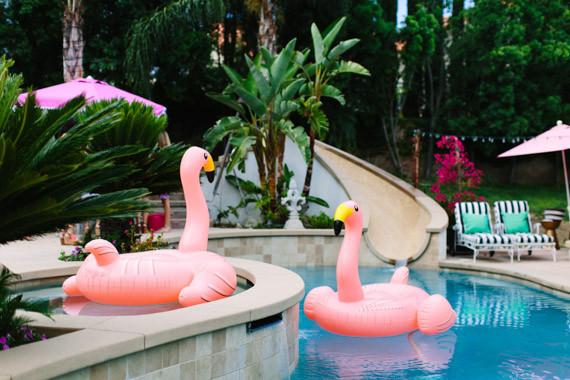 Flamingo Pool Floats Wedding Amp Party Ideas 100 Layer Cake