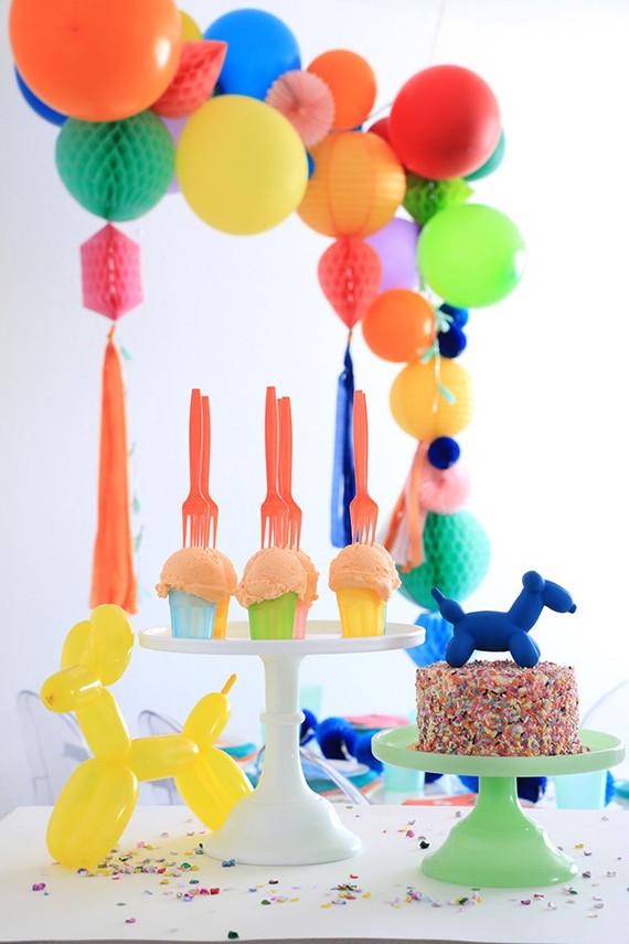 balloon animal party ideas | Wedding & Party Ideas | 100 Layer Cake