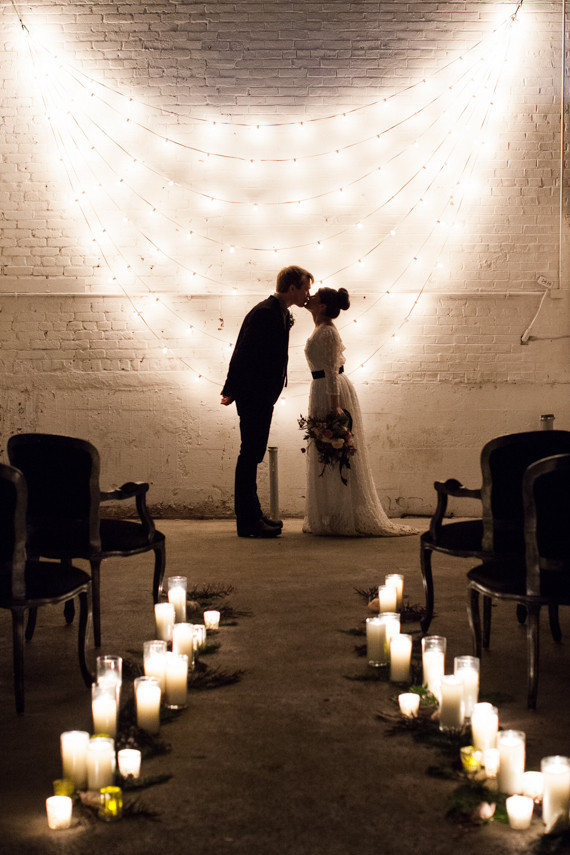 String Lights For Backdrop : String light backdrop Wedding & Party Ideas 100 Layer Cake