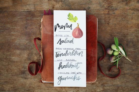 Fall wedding menu | Wedding & Party Ideas | 100 Layer Cake