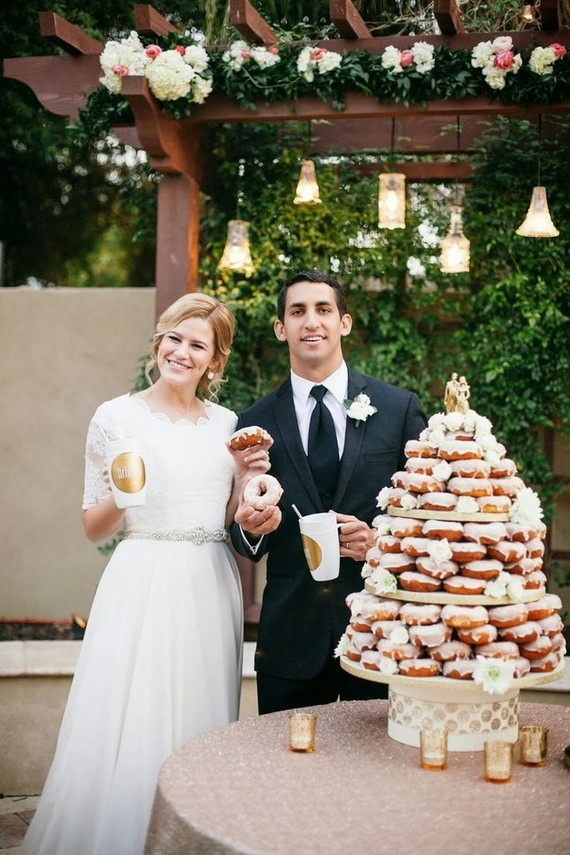Donut Cake Wedding Party Ideas Layer