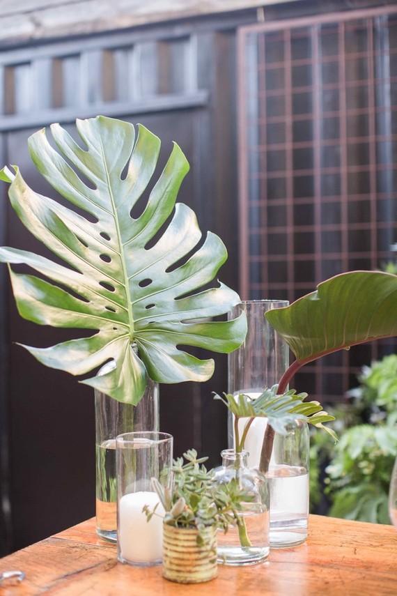 Palm leaf wedding