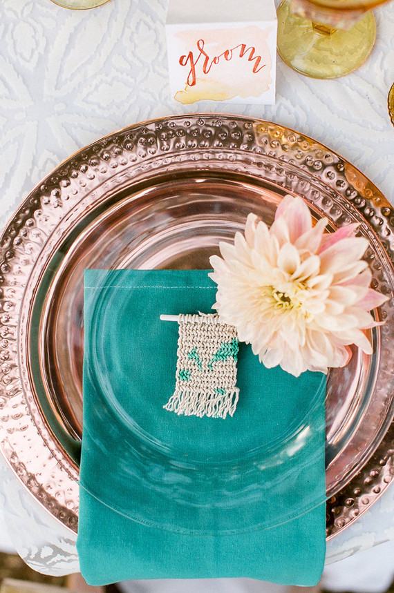 Copper wedding inspiration