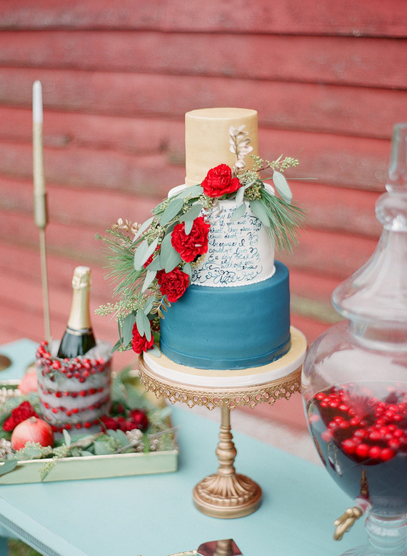 Elegant Winter Wedding Cake Wedding Party Ideas 100 Layer Cake