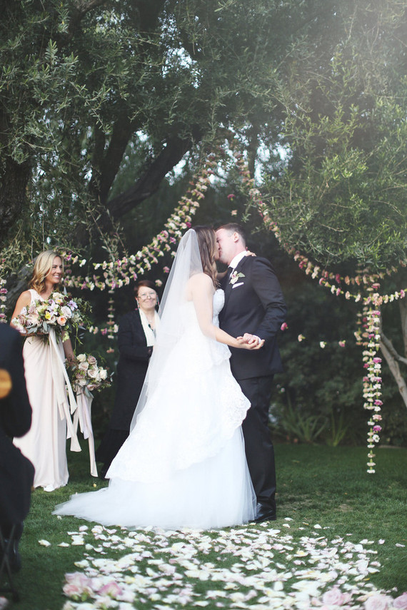 Bohemian ceremony garland