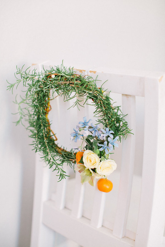 floral holiday wreaths