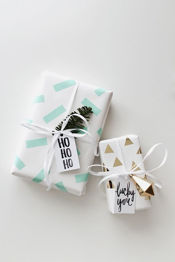 DIY Holiday gift wrap ideas Wedding & Party Ideas 100 Layer Cake