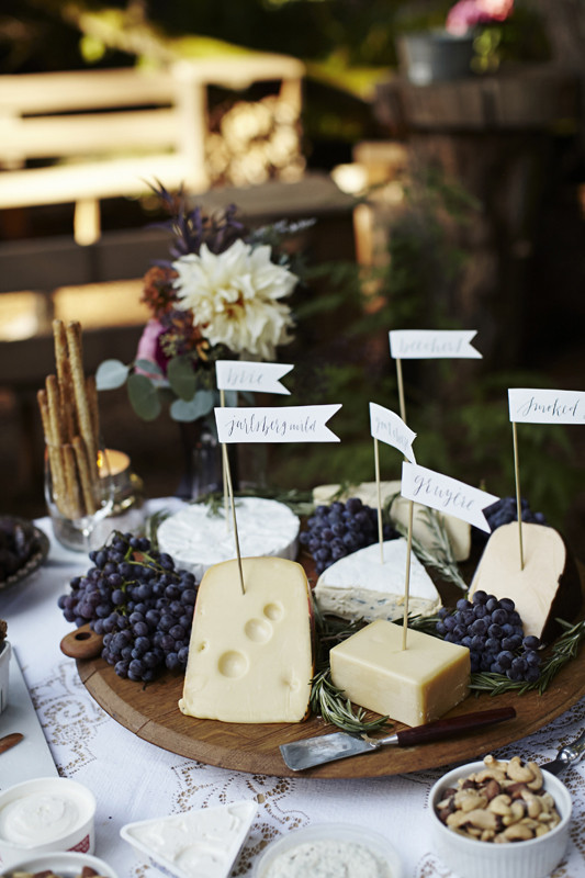 Cheese platter appetizer  Wedding & Party Ideas  100 Layer Cake