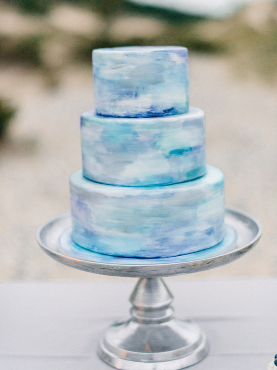 Watercolor Wedding Cake Wedding Amp Party Ideas 100