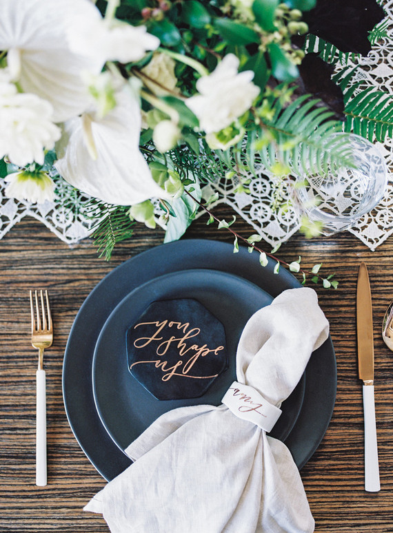 Modern Wedding Place Setting Wedding Party Ideas 100