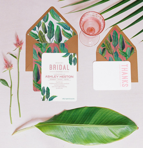 Palm leaf wedding