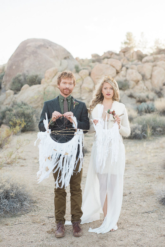 Bohemian Desert Wedding Inspiration Wedding Amp Party