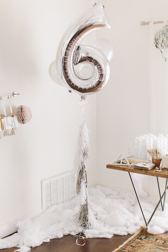 Silver Mylar Number Balloon Wedding Amp Party Ideas 100