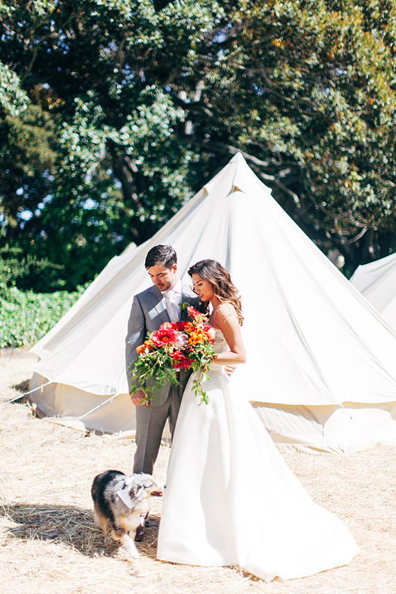 California glamping wedding