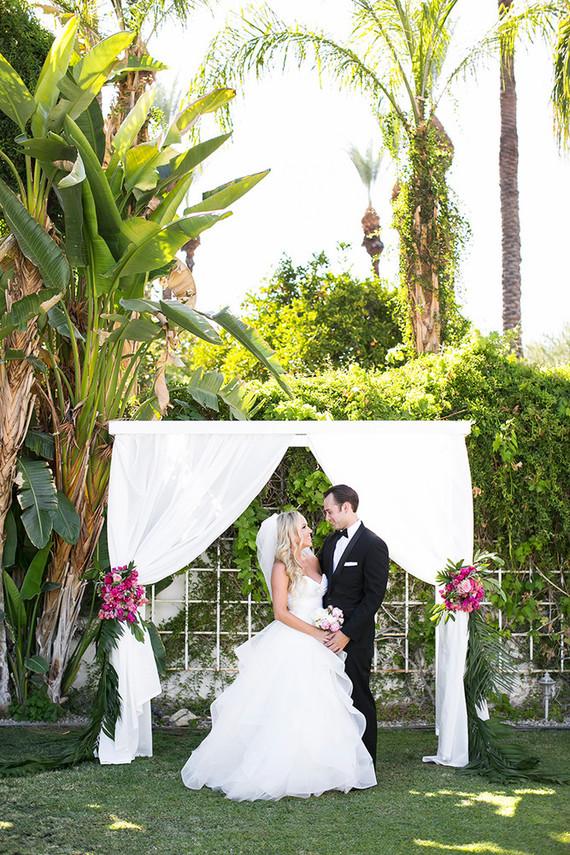 Tropical Palm Springs Wedding Wedding Amp Party Ideas