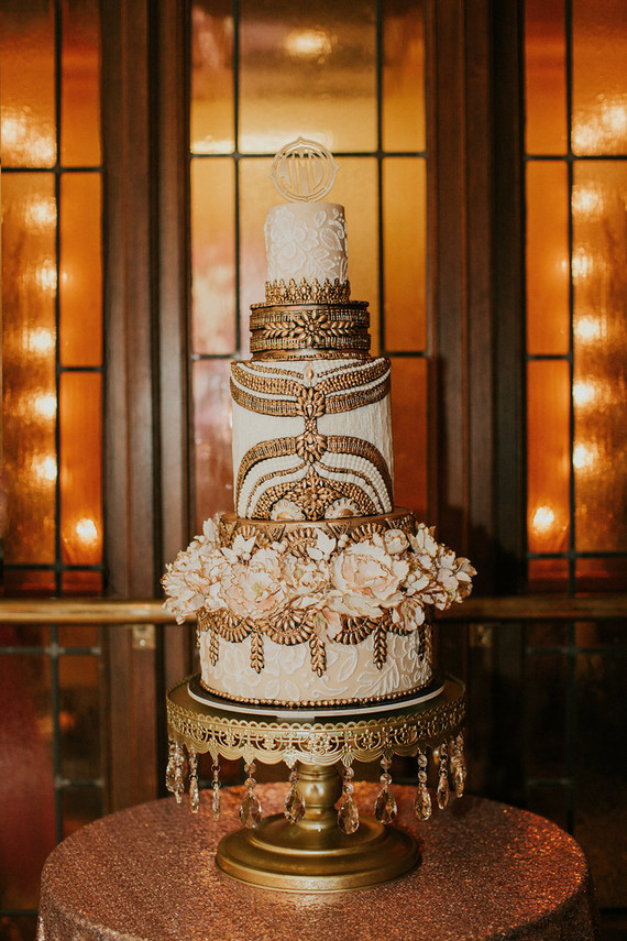 Cake Decorating West Hollywood : Art Deco wedding cake Wedding & Party Ideas 100 Layer Cake