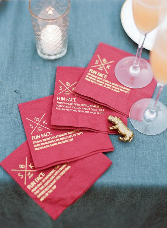 cocktail napkins wedding party ideas 100 layer cake. Black Bedroom Furniture Sets. Home Design Ideas