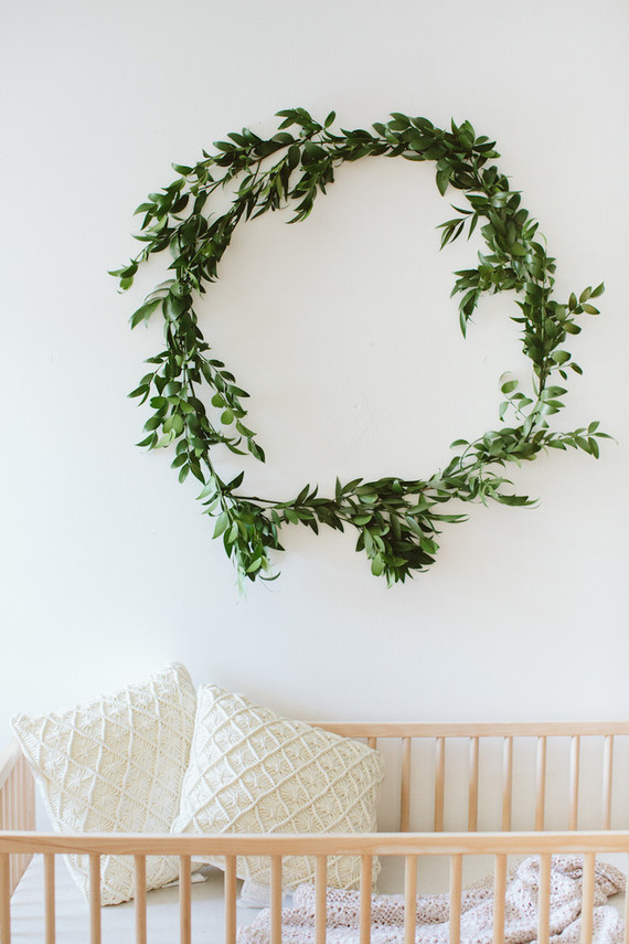 Greenery Wreath Decor Wedding Amp Party Ideas 100 Layer Cake