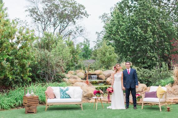 Outdoor wedding lounge | Wedding & Party Ideas | 100 Layer Cake