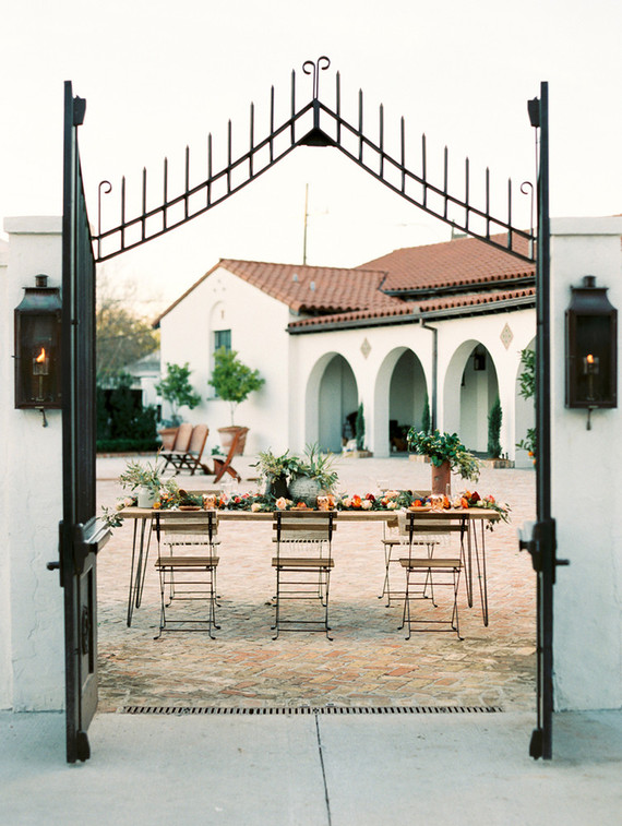 Spanish-inspired wedding inspiration