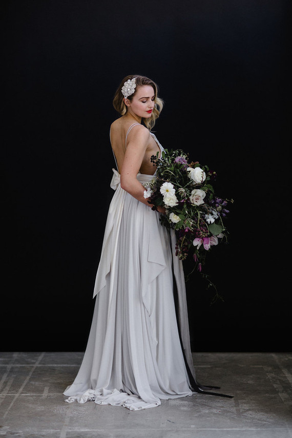 Pale Grey Bridal Gown Wedding Amp Party Ideas 100 Layer Cake
