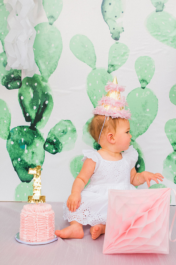 Pink Cactus Themed 1st Birthday Wedding Amp Party Ideas