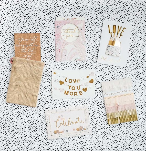 100 Layer Cake Hallmark Signature card collection