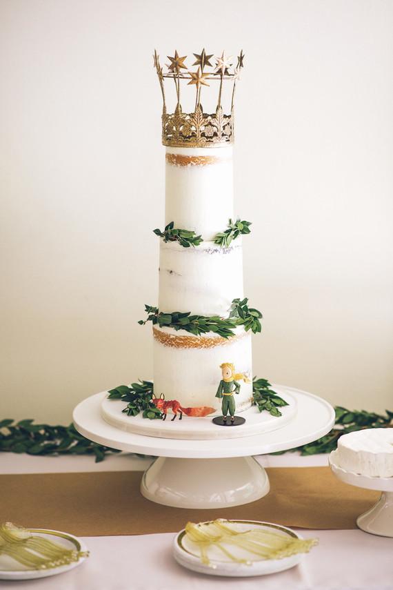 Little Prince Birthday Cake Wedding Party Ideas 100 Layer Cake