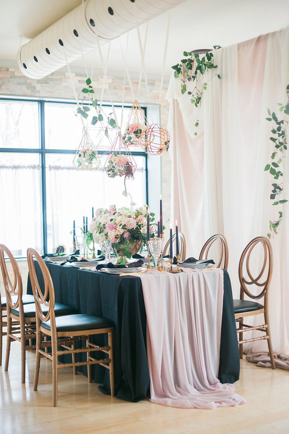 Romantic Pink And Black Wedding Decor Wedding Party Ideas 100