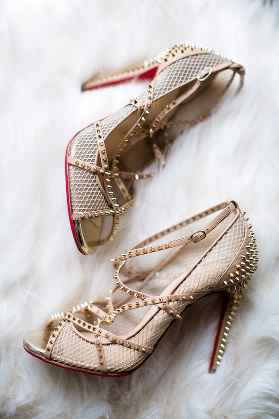 edgy wedding shoes