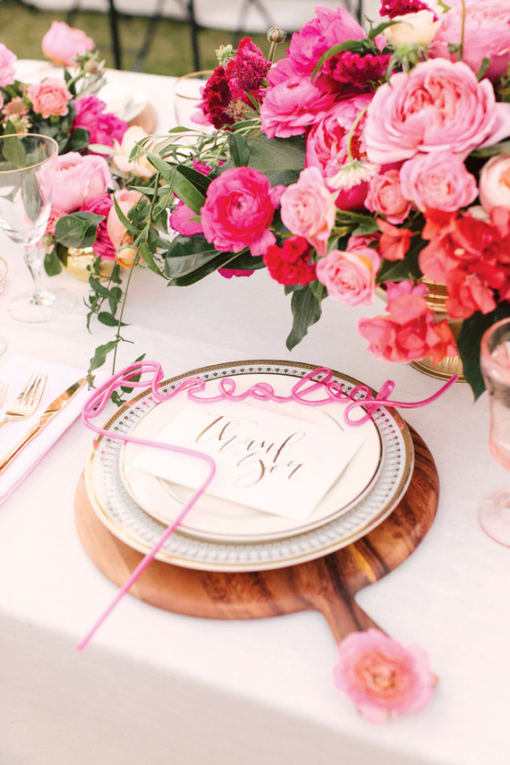 pink table scape ideas, Studio DIY