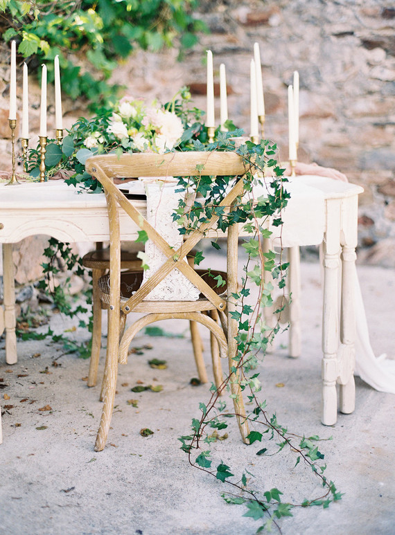romantic vineyard wedding ideas